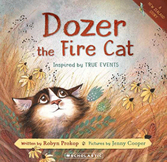 Dozer the Fire Cat by Robyn Prokop