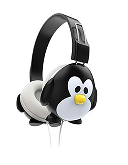 Endeavour Kids Headphones - Penguin