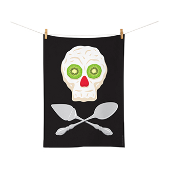 Glenn Jones Tea Towel - Pavlova Pirate