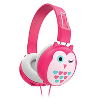 Endeavour Kids Headphones - Owl