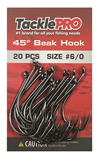 TacklePRO 45-degree Beak Hook